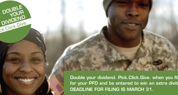 Pick.Click.Give. Double Your Dividend