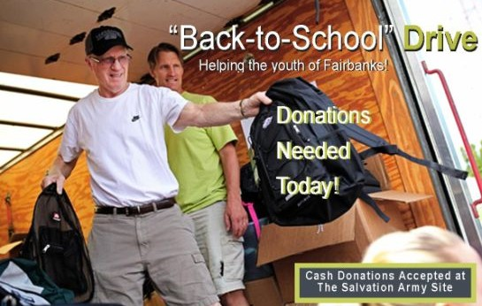 The Salvation Army – Backpack Drive