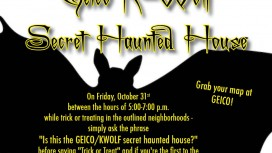 K-WOLF/GEICO SECRET HAUNTED HOUSE